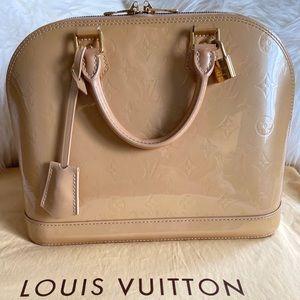 💯 Authentic Louis Vuitton Vernis Alma Pm
